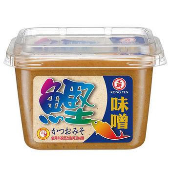 大安工研鰹魚味噌500g