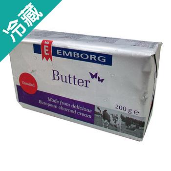 EMBORG奶油-無鹽200g