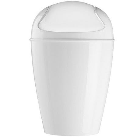 《KOZIOL》搖擺蓋垃圾桶(白XXS)