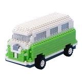 UTICO智慧手機搖控積木車(經典巴士-綠)
