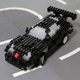 UTICO智慧手機搖控積木車(超級跑車-大方黑)