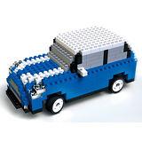 UTICO智慧手機搖控積木車(MINI 古博-澄淨藍)