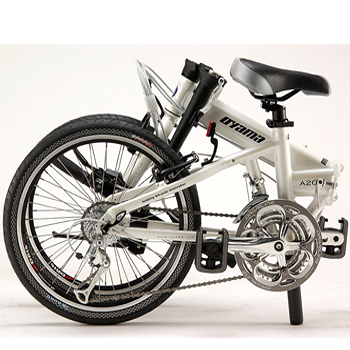 【OYAMA】歐亞馬鋁合金20吋27速摺疊車A200(檸檬黃)