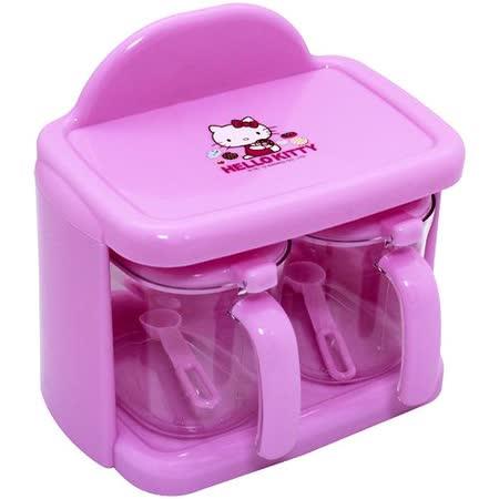 Hello Kitty二入調味盒-甜甜圈KT0375