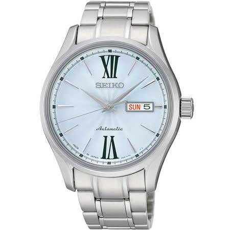 SEIKO PRESAGE 匠心4R36機械腕錶-藍 4R36-01L0B