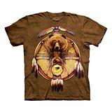 『摩達客』*大尺碼3XL*美國進口【The Mountain】自然純棉系列 熊之盾 設計T恤 (預購)