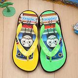 【童鞋城堡】湯瑪士亮麗海攤夾腳拖鞋{台灣製造}TH2038