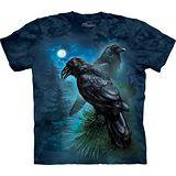 『摩達客』*大尺碼3XL*美國進口【The Mountain】自然純棉系列 雷文斯渡鴉 設計T恤 (預購)