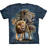 『摩達客』*大尺碼3XL*美國進口【The Mountain】自然純棉系列 大獅群 設計T恤 (預購)