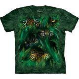 『摩達客』(預購)*大尺碼3XL*美國進口【The Mountain】自然純棉系列 叢林之眼設計T恤
