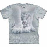 『摩達客』(預購)*大尺碼3XL*美國進口【The Mountain】自然純棉系列 保護小虎設計T恤