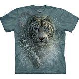 『摩達客』(預購)*大尺碼3XL*美國進口【The Mountain】自然純棉系列 濕白虎設計T恤
