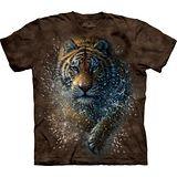 『摩達客』(預購)*大尺碼3XL*美國進口【The Mountain】自然純棉系列 濕棕虎設計T恤