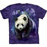 『摩達客』(預購)*大尺碼3XL*美國進口【The Mountain】自然純棉系列 熊貓群設計T恤