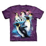 『摩達客』(預購)*大尺碼3XL*美國進口【The Mountain】自然純棉系列 國王企鵝設計T恤