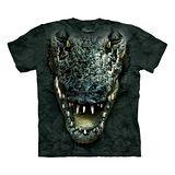 『摩達客』*大尺碼3XL*美國進口【The Mountain】自然純棉系列 鱷魚頭 設計T恤 (預購)