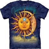 『摩達客』*大尺碼3XL*美國進口【The Mountain】自然純棉系列 日月 設計T恤 (預購)