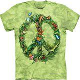 『摩達客』(預購)*大尺碼3XL*美國進口【The Mountain】自然純棉系列 雨林和平設計T恤