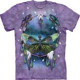 『摩達客』(預購)*大尺碼3XL*美國進口【The Mountain】自然純棉系列 蜻蜓捕夢設計T恤