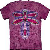 『摩達客』(預購)*大尺碼3XL*美國進口【The Mountain】自然純棉系列 蜻蜓 紮染 設計T恤
