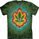 『摩達客』*大尺碼3XL*美國進口【The Mountain】自然純棉系列 甜葉 紮染 設計T恤 (預購)