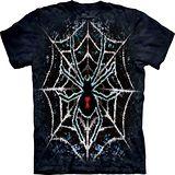 『摩達客』(預購)*大尺碼3XL*美國進口【The Mountain】自然純棉系列 蜘蛛 紮染 設計T恤