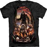 『摩達客』*大尺碼3XL*美國進口【The Mountain】自然純棉系列 死亡之幫 設計T恤 (預購)