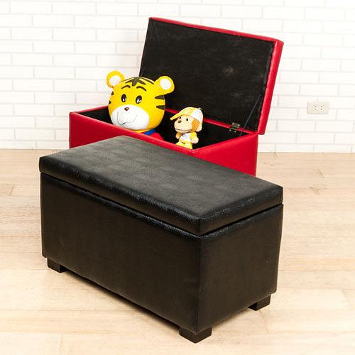 時尚鱷魚紋長收納椅/掀蓋椅(寬78公分)(2色)
