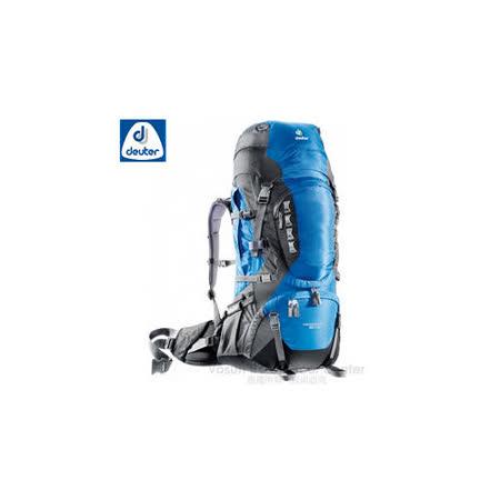 【【德國 Deuter】Aircontact PRO 拔熱透氣背包 60+15L 登山背包.露營背包雙肩背包.旅行包/ 33823