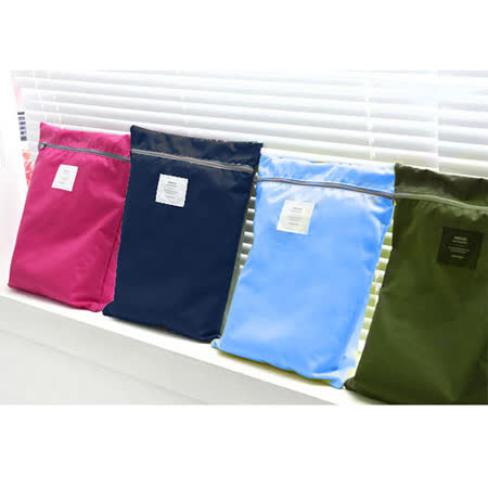 【iSFun】旅行收納*手提式防水收納袋/四色可選