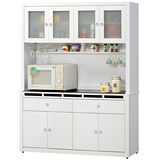 HAPPYHOME 裕隆5尺貝多美碗櫥櫃組可選色(406-1)