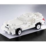 UTICO智慧手機搖控積木車(超級跑車-GT白)