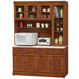HAPPYHOME 長榮5.3尺樟木石面餐櫃組(416-1)