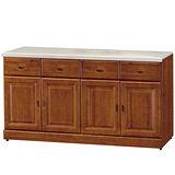 HAPPYHOME 長榮5.3尺樟木石面餐櫃(416-6)