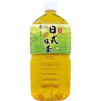 ★超值2件組★生活日式綠茶無糖1000ml