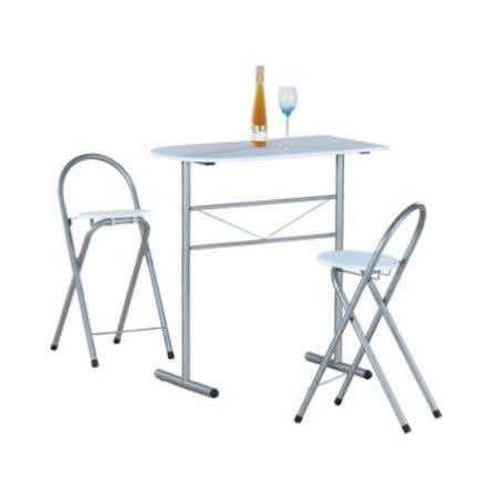 洽談桌椅組/吧台桌椅組/餐桌椅組(1桌2椅)-二色可選