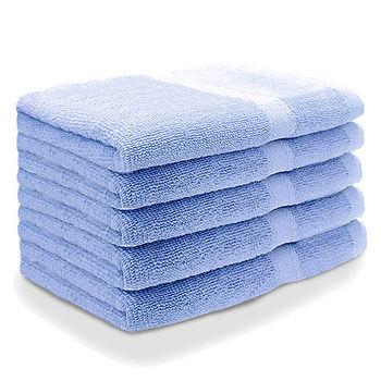 純棉飯店級毛巾-天空藍(34*76cm)