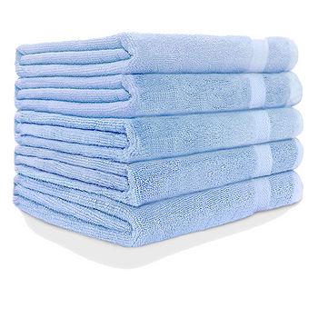 純棉飯店級浴巾-天空藍(68*137cm)