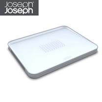 Joseph Joseph英國創意餐廚★好好切雙面傾斜砧板(大白)★60003