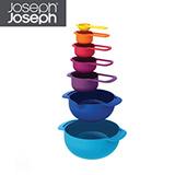 Joseph Joseph英國創意餐廚★量杯打蛋盆7件組★40033