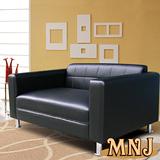 【MNJ】大氣生活獨立筒沙發2人座(四色可選)