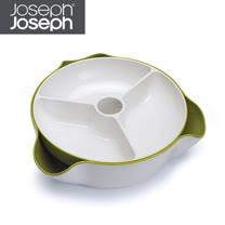 Joseph Joseph英國創意餐廚★好方便雙層點心碗(綠白)★70073