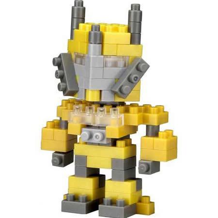 【TICO微型積木任選館】戰鬥機器人-黃 3008