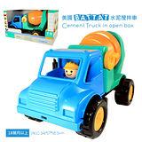 【美國B.Toys感統玩具】水泥攪拌車_Battat系列