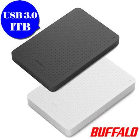 BUFFALO PCF系列 1TB USB3.0 2.5吋薄型硬碟