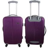 CoolOne 紫色之戀20吋條紋登機箱