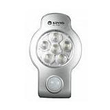 KINYO圓弧無線超亮6LED人體紅外線及光控雙感應燈(SL-708)
