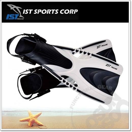 ~IST~SPEEDY 浮潛蛙鞋.流線型,水阻低,自動調整固定帶鬆緊的鞋帶扣環.潛水.溯溪