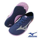 Mizuno 女訓練鞋(藍x粉紅)8KP-30302