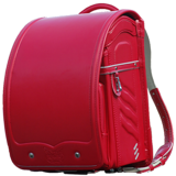 【VISO】寶貝之翼 G 系列-手工護脊書包(蘋果紅)